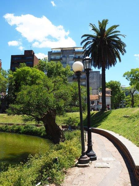 Parque Rodó - the old and the new in public lighting