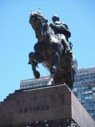 General Artigas monument, above his mausoleum