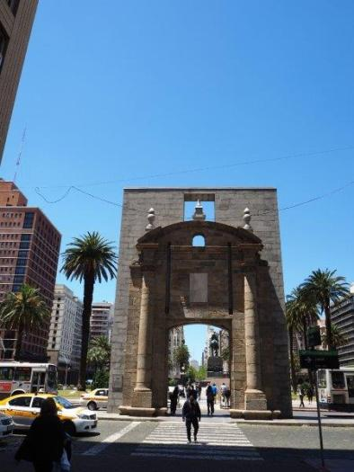 Old City's gate